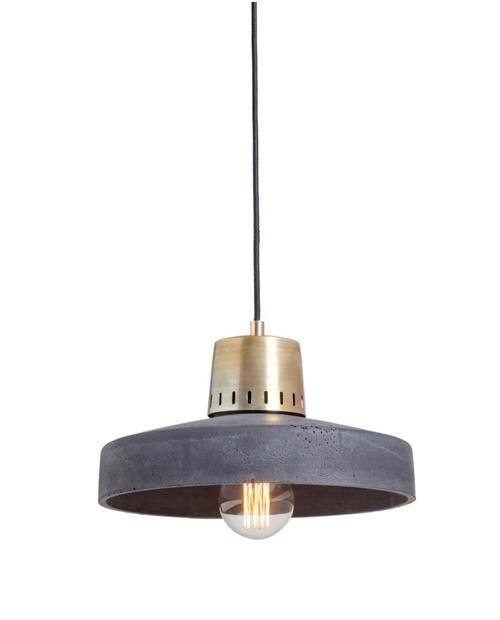 Griestu Lampa Korta 2 Anthracite/Brass