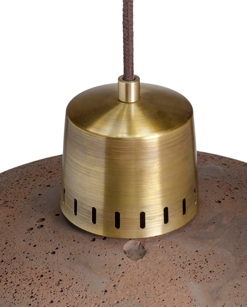 Griestu Lampa Korta 2 Chocolate_Brass_1