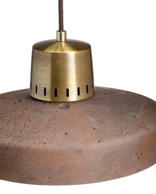 Griestu Lampa Korta 2 Chocolate_Brass_2